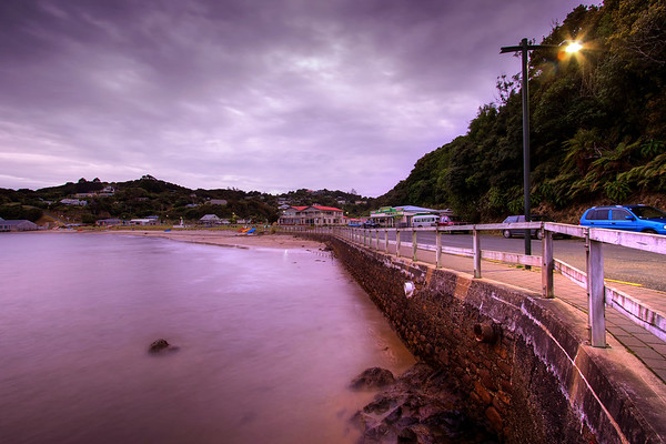 Early morning in Oban, Stewart Island is an extremely quiet place. When I was there I headed out early and had the place to myself as the day dawned and the sun started to stir the residence awake.   John's Blog https://blog.caswellimages.com/  The latest print price guide: https://bit.ly/3oLw9OI