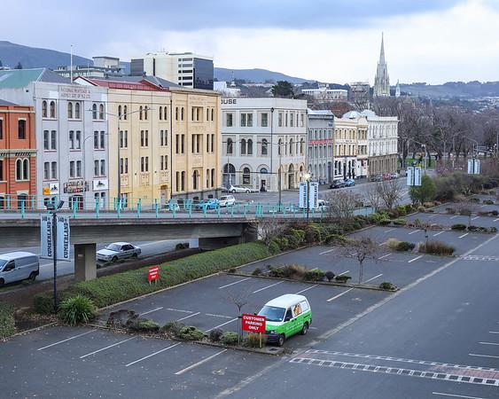 Carpark, Dunedin, August 2021