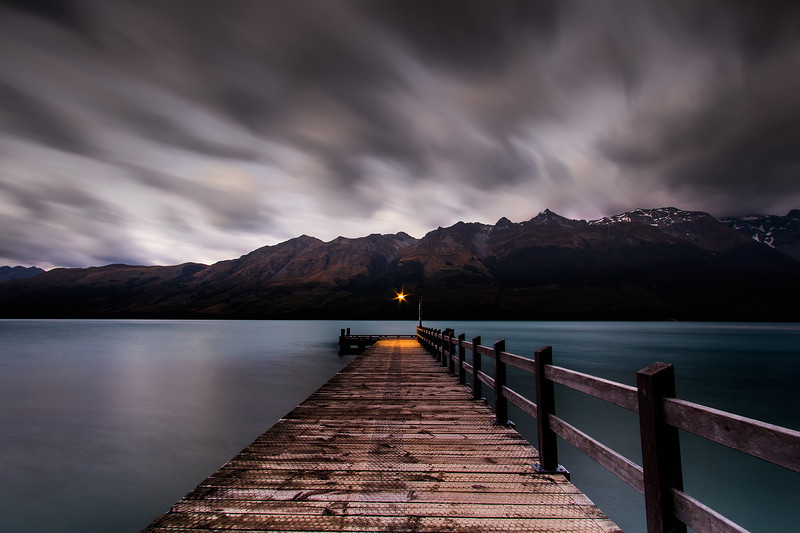 Morning Cloud at Glenorchy Pier