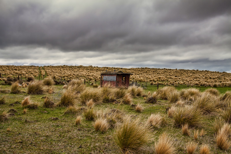 Railway Carriage on the Back Road