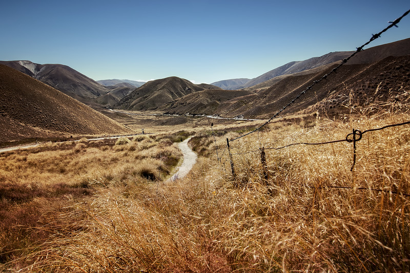 Summer's Day in the Lindis Pass