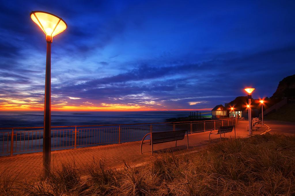 Colours of the Esplanade.