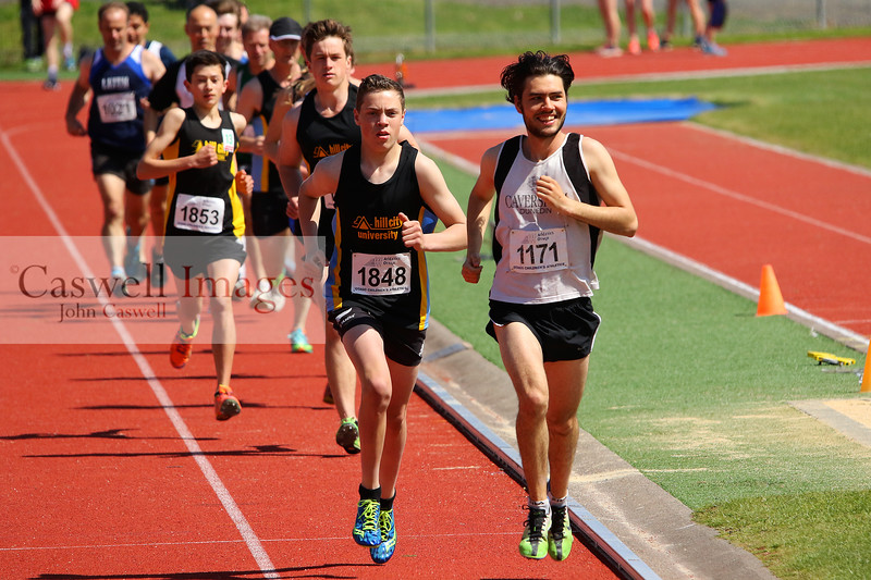 Athletics Otago track and field meeting (October 15th).