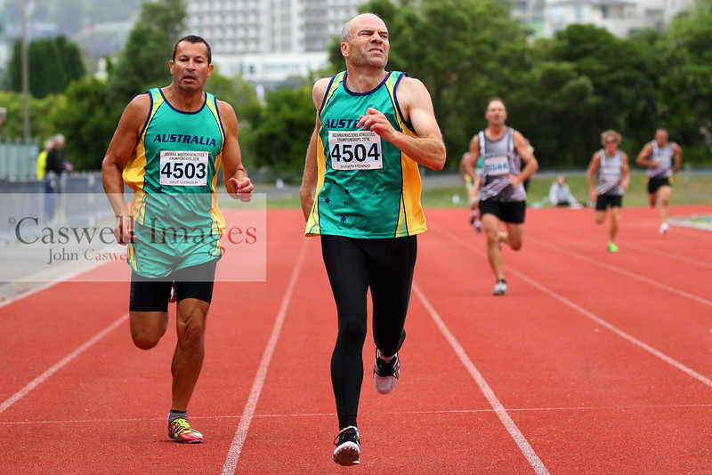 Oceania Master Track and Field Championships (20.01.18)