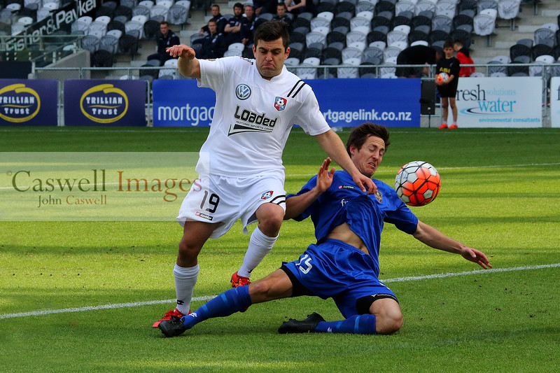 ASB Premiership, Otago United vs WaiBOP United, 06.012.15