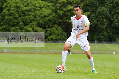 ASB Premiership, Otago United vs Waitakere United, 15.11.15