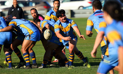 Club Rugby League: semi final, Otago University v South Pacific Raiders (16.06.18)