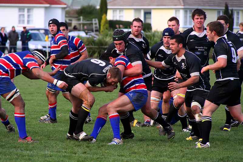 Dunedin Club Rugby - Harbour v Pirates - 26th June 2010