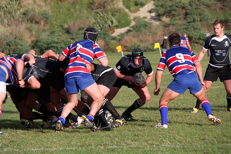 Dunedin Club Rugby - Pirates v Harbour - 1st May 2010