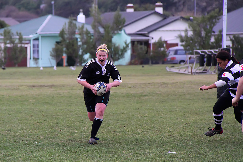 Dunedin Club Rugby - Pirates Women v Southern Women - 26th June 2010