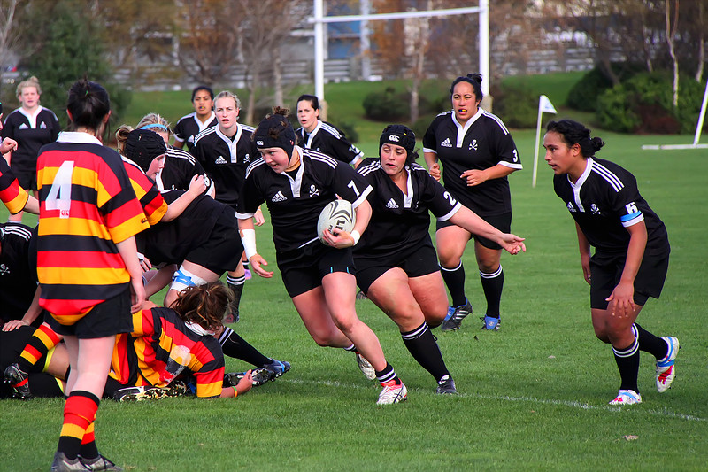 Dunedin Club Rugby - Zingari Richmond Women v Pirates Women - 22nd May 2010