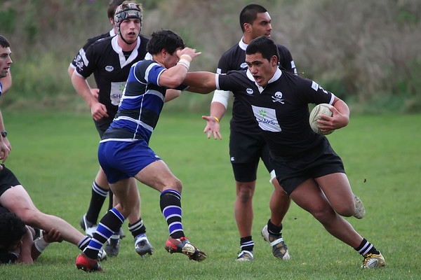 Dunedin Club Rugby - Pirates Colts v Kaikorai Colts - 4th June 2011.