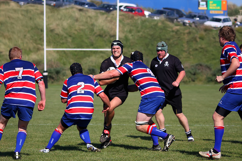 Dunedin Club Rugby - Pirates Premier 2 v Harbour Premier 2 - 9th April 2011