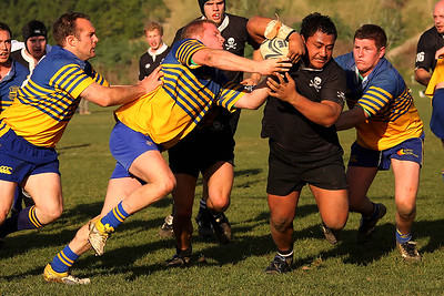 Dunedin Club Rugby - Pirates Premier 2 v Taieri Premier 2 - 2nd July 2011