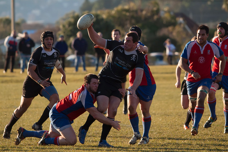 Dunedin Club Rugby - Pirates v Harbour - 23rd July 2011