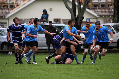 Dunedin Club Rugby - University A v Kaikorai - 16th April 2011