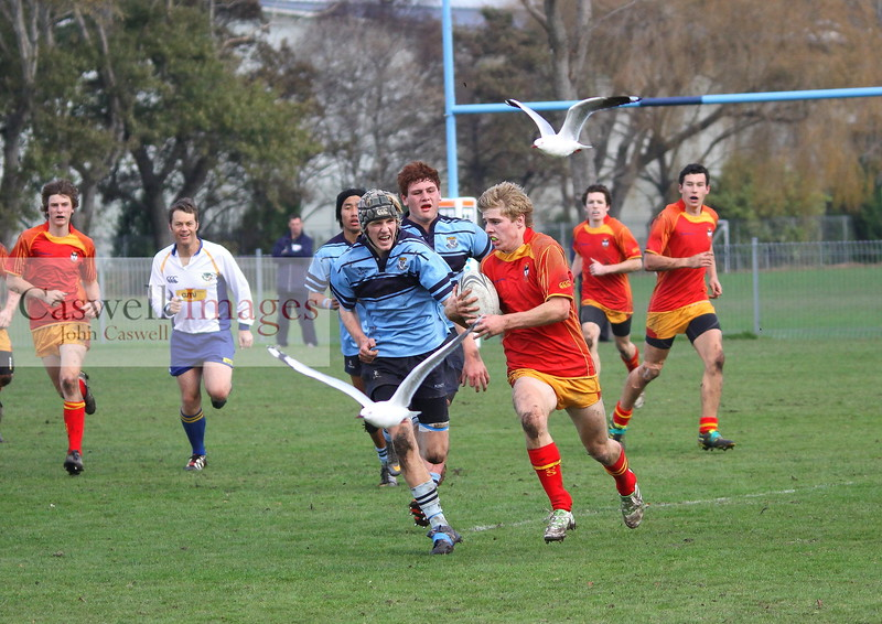 Highlanders 1st XV Rugby - Kings High School 1st XV v Dunstan High School 1st XV - 2nd June 2012