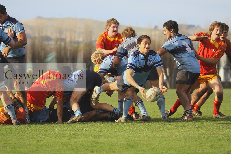 Highlanders 1st XV Rugby - Kings High School 1st XV Dunstan High School 1st XV - 2nd June 2012
