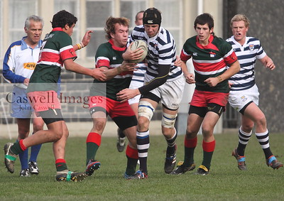 Highlanders 1st XV Rugby - Otago Boys High School 1st XV v Menzies High School 1st XV - 9th June 2012