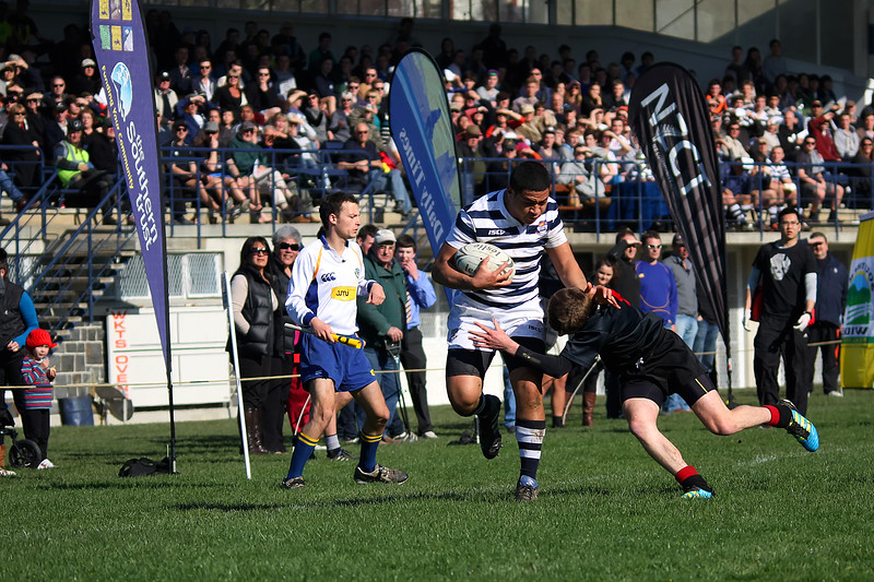 Highlanders 1st XV Final - Otago Boys High School 1st XV v Waitaki Boys High School 1st XV - 18th August 2012