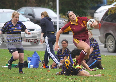 Dunedin Club Rugby - Alhambra Union Women v Blues (Invercargill) - 12th May 2012