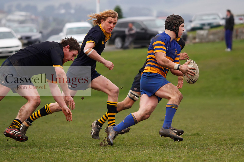 Dunedin Club Rugby - Dunedin Colts v Taieri Colts - 11th August 2012