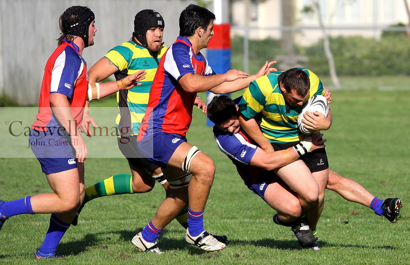 Dunedin Club Rugby - Harbour v Green Island – 25.04.12