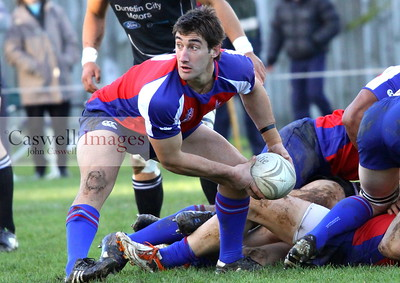 Dunedin Club Rugby - Harbour v Pirates – 16.06.12