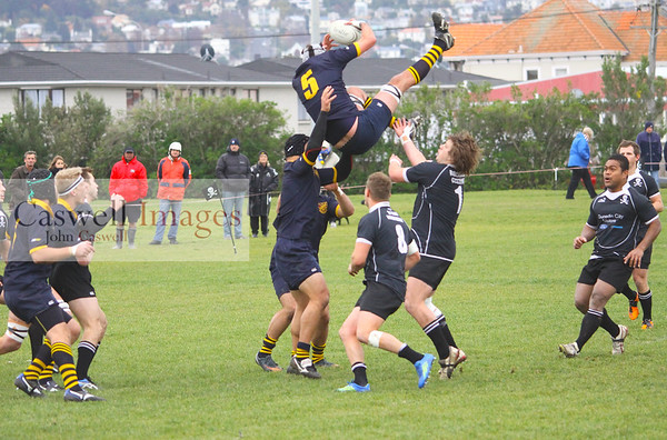 Dunedin Club Rugby - Pirates v Dunedin – 26.05.12
