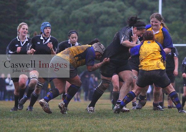 Dunedin Club Rugby - Pirates Women v Blues (Invercargill) - 14th July 2012