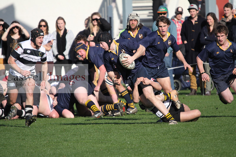 Dunedin Club Rugby, Premier 2 Final - Southern v Dunedin - 18th August 2012