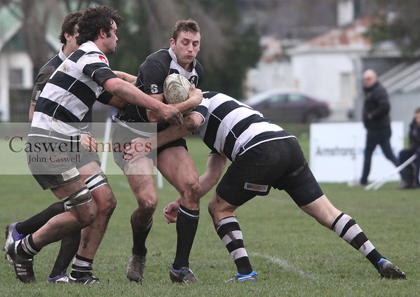 Dunedin Club Rugby - Southern v Pirates – 21.07.12