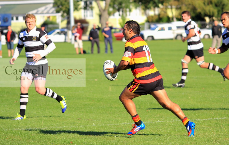 Dunedin Club Rugby - Southern v Pirates – 14.04.12