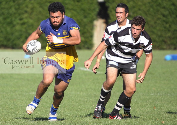Dunedin Club Rugby - Taieri Premier 2 v Southern Premier 2 - 5th May 2012