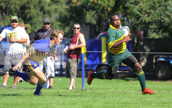 Dunedin Club Rugby - Taieri Seniors v Eastern Seniors - 31st March 2012