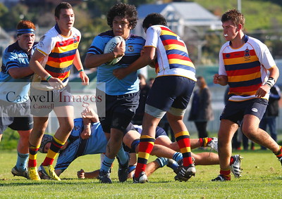 Highlanders 1st XV Rugby - Kings High School 1st XV v John McGlashan High School 1st XV - 11th May 2013