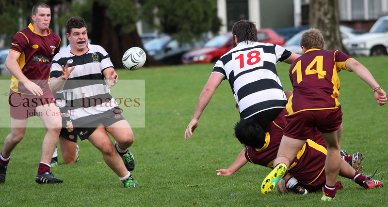 Dunedin Club Rugby - Alhambra Union Colts v Southern Magpies (Colts) - 25th April 2013