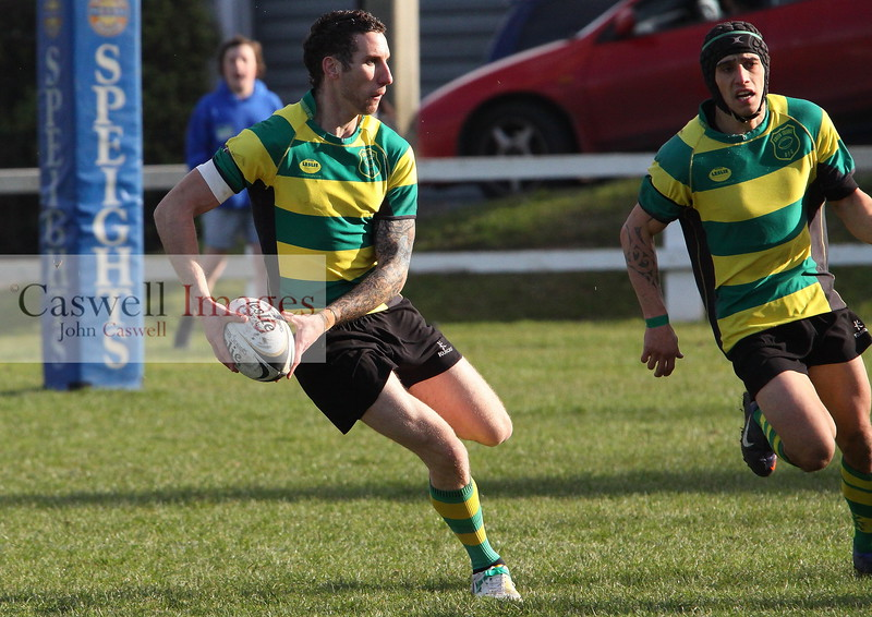 Dunedin Club Rugby - Green Island Seniors v Pirates Seniors, Division 2 Final - 10th August 2013