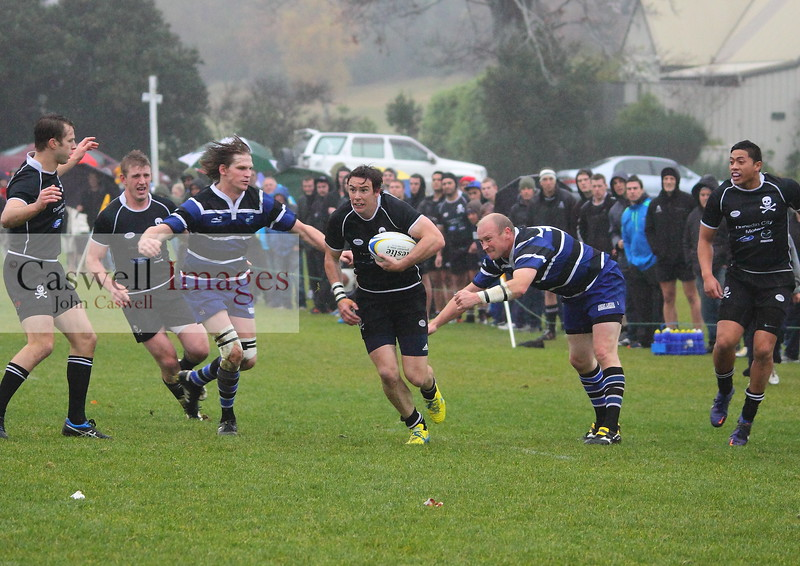 Kaikorai v Pirates, Bishopscourt, 18.05.13