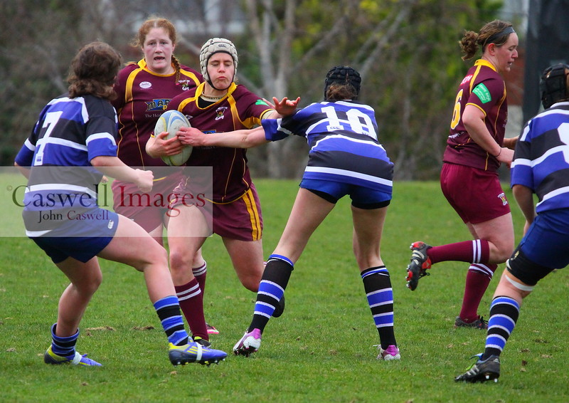 Dunedin Club Rugby - Kaikorai Women v Alhambra Union Women - 3rd March 2013