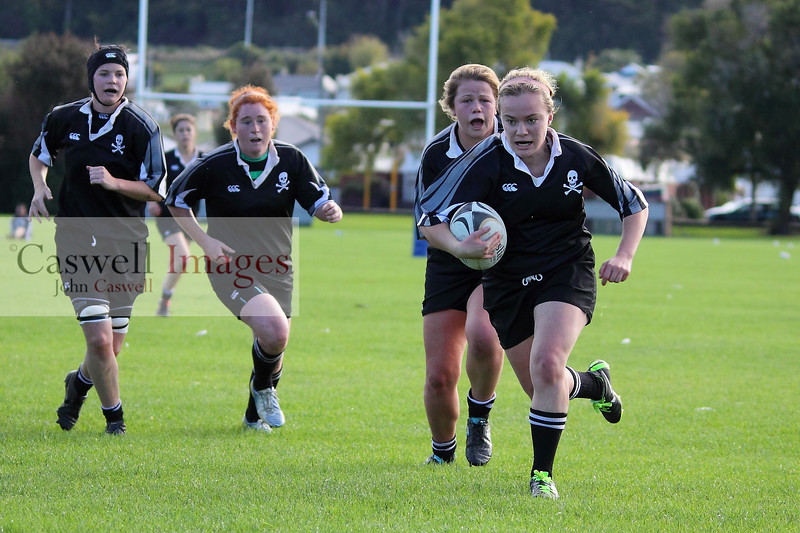 Dunedin Club Rugby - Southern Women v Pirates Women - 27th April 2013
