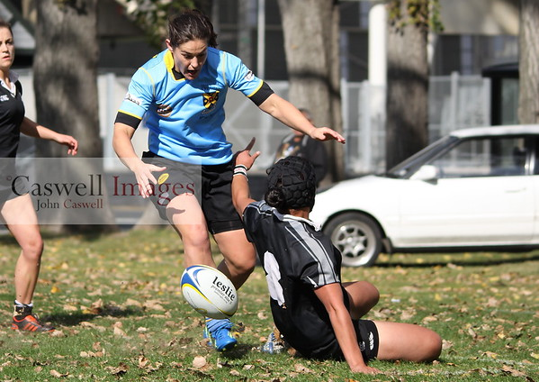 Dunedin Club Rugby - University Women v Pirates Women - 13th April 2013