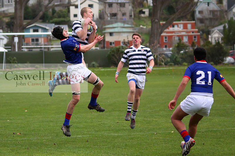Highlanders 1st XV Rugby - Otago Boys High School 1st XV v St Kevins High School 1st XV