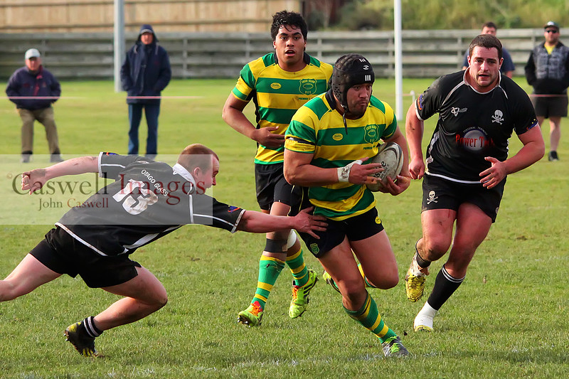 Dunedin Club Rugby - Pirates v Green Island