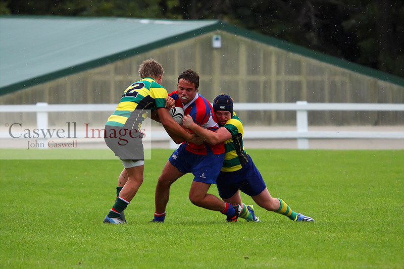 Dunedin Club Rugby (Preseason) - Green Island v Harbour - 2nd March 2014