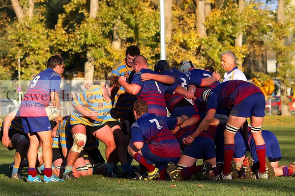 Dunedin Club Rugby – University B v West Taieri, University Oval.
