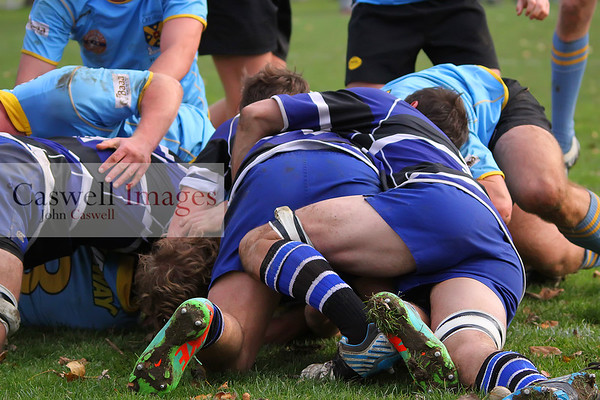 Dunedin Club Rugby – University Blue v Kaikorai Colts, University Oval.