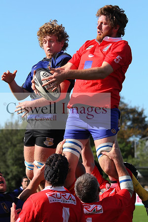 North Otago Club Rugby - Excelsior v Kurow - 26th April 2014