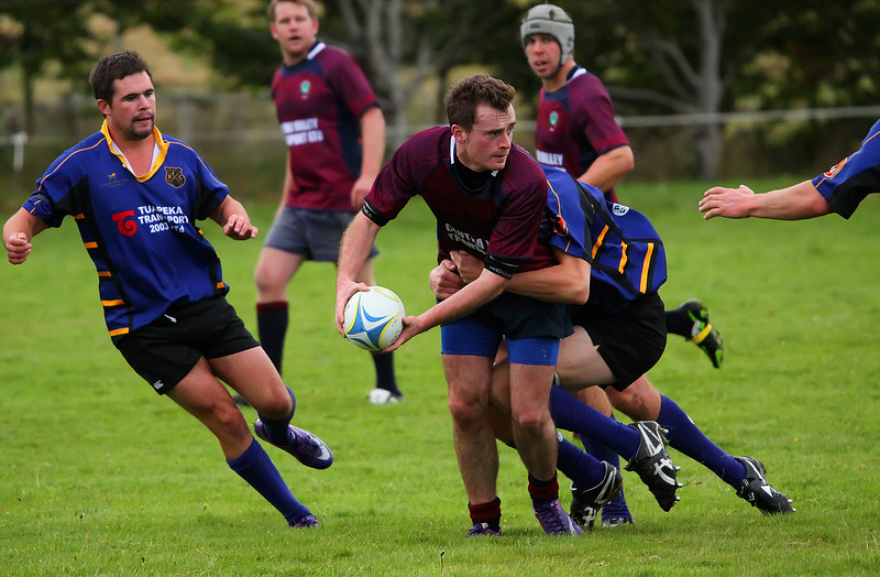 South Otago Club Rugby - Lawrence v Clutha Valley - 12th April 2014