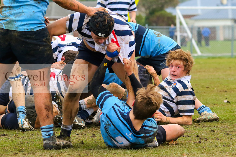 Dunedin 1sx XV - Kings High School 1st XV v Otago Boys High School 2nd XV